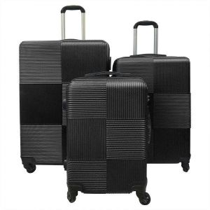 f27f29dfbafcf3 Rich and famous Travel hard side luggage