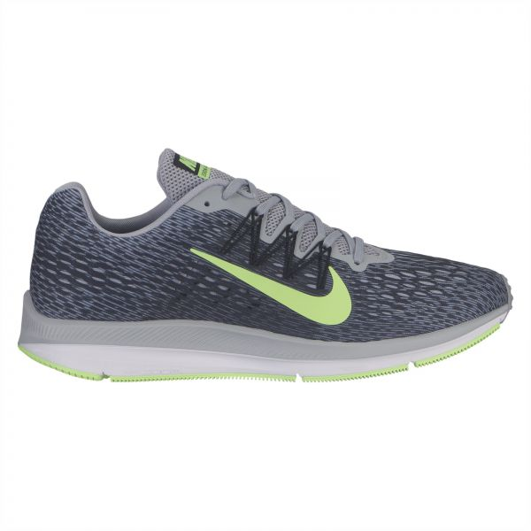 35d85a20d57a7 Nike Zoom Winflo 5 Running Shoes for Men - Wolf Grey Black