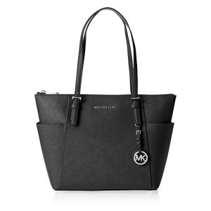 3012b6931545 Michael Kors 30F2STTT8L 001 Jet Set Item Tote Bag for Women - Leather