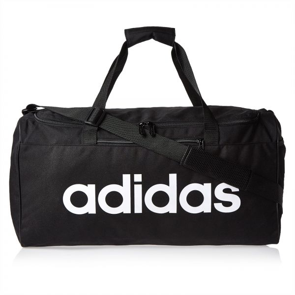 ecaccaae88 adidas Linear Core Medium Duffel Bag for Men - Black