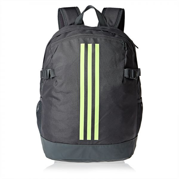 adidas DQ1065 3-Stripes Medium Power Backpack for Men - Grey. by Adidas 1d9a48cd9d330