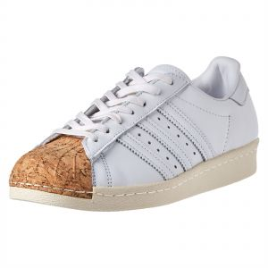 adidas Originals Superstar 80S Fashion Sneakers for Women - White Off White 2f7870a0fb