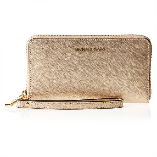 4f92fcf2c854b Michael Kors 32T5MTVE9M-740 Multifunction Phone Case Wristlet for Women -  Leather
