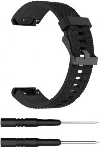 7f9a379bdcc441 Silicone Wrist Band for Garmin Fenix 5S Strap Watchband for Garmin Fenix5s  Band with 20MM Stainless steel buckle