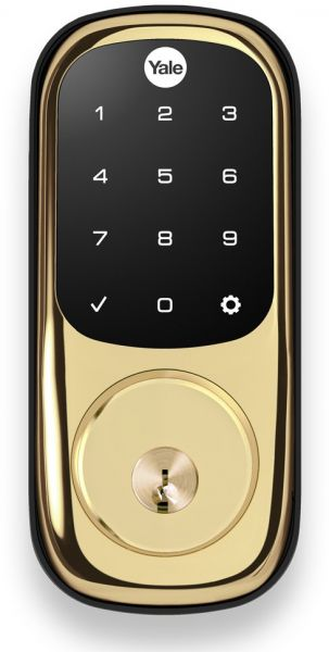 Yale Assure Lock Touchscreen Keypad with Z-Wave, Polished