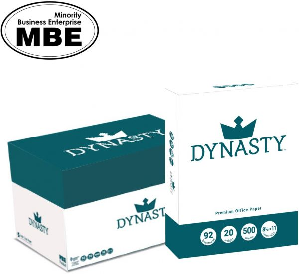 Dynasty Copy Paper White 85 X 11 Letter 92 Bright 10 Reams