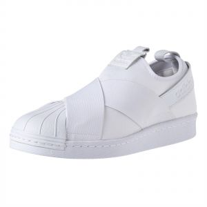 brand new 71583 08e02 adidas Originals Superstar Slip On Sneakers For Men - White