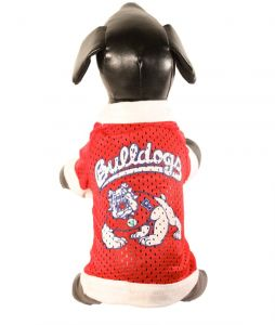 6100d9e91 All Star Dogs NCAA Fresno State Bulldogs Athletic Mesh Dog Jersey