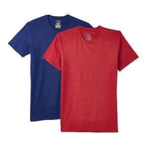 5ebf5fb7f142 Polo Ralph Lauren Crew Neck T-Shirt Set for Men - Red and Blue