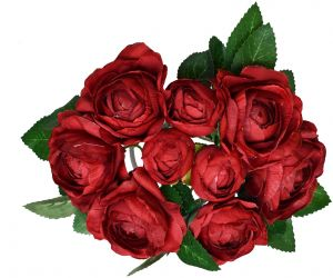 Beautiful Luxury Silk Artificial Rose Flowers Gift For Anniversary