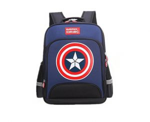 34c66a07b1ea Large Marvel American Captain s Schoolbag with Glittering light Primary School  Boys Backpack Children s Reduced Shoulder Bag Small