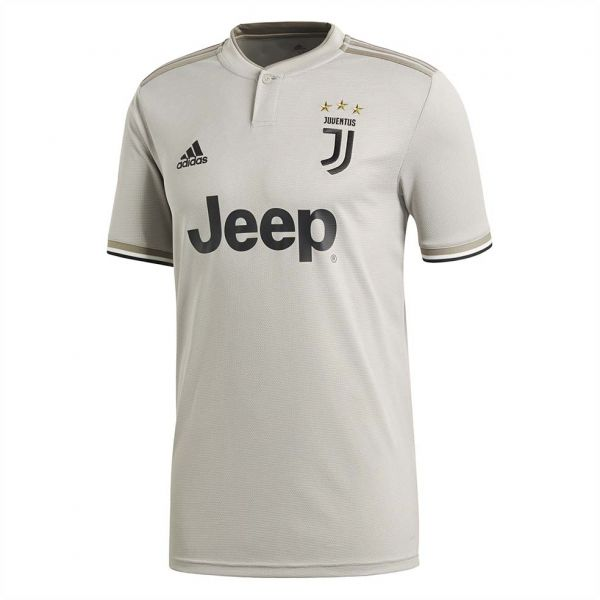 0a98e7bcc adidas Weft knitted Juventus Away Sports Jersey for Men - Sesame Clay