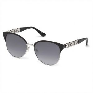 287abdda66b Guess Clubmaster Sunglasses for Women - Gradient Smoke Lens