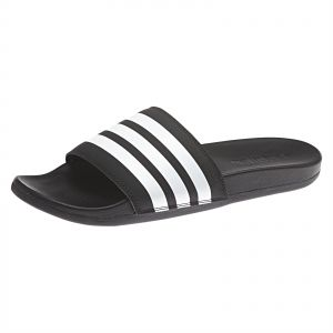 a5ff6ee3653c adidas Adilette Cloudfoam Plus Stripes Slides for Men - Black