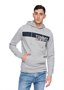 36063153fb8fd6 Tommy Hilfiger Hoodie for Men - Grey Heather