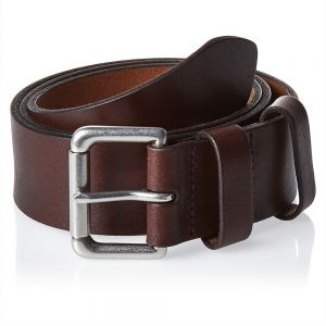 4693f1653866 Ralph Lauren Italian Saddle Roller Leather Belt for Men - Brown
