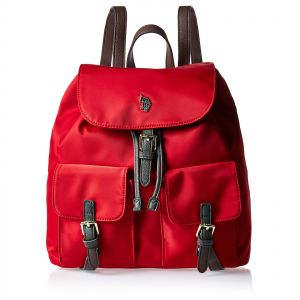 ad88f7511877 U.S. POLO Backpack for Women - Red