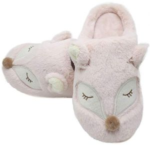 ef27eca6941 Animal Slippers for Women   Men Cotton slippers Warm Fur Cute House Ladies  Shoes Girls Slippers Indoor   Outdoor