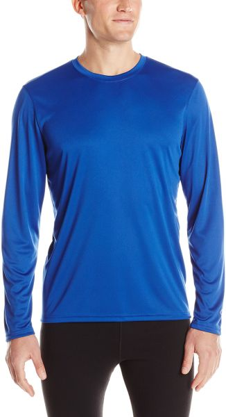 087172fb697a Champion Men s Long Sleeve Double Dry Performance T-Shirt