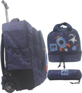 5570234cf2b3 Buy coofit rolling backpack for girls school bag travel bags kids ...