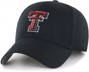 buy popular d36ef 112af OTS NCAA Texas Tech Red Raiders All-Star MVP Adjustable Hat, Black, One Size