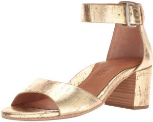 0e60b476040 Gentle Souls by Kenneth Cole Women s Christa Mid-Heel Sandal with Ankle  Strap Sandal
