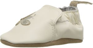 Robeez Girls Soft Soles Crib Shoe Bee Creme 6 12 Months M Us Infant Buy Online Baby Clothes Shoes At Best Prices In Egypt Souq Com