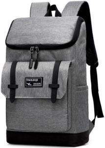 6685012860 Grey High School Backpack for Boys Bchoolbag College Bags Student Travel  Backpack