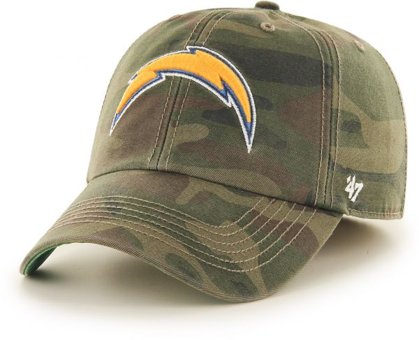 0d6bbce94c1 NFL San Diego Chargers Harlan Franchise Fitted Hat