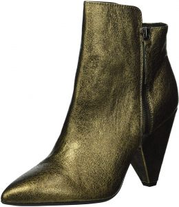 c0540157db0d Kenneth Cole New York Women s Galway Side Zip Heeled Bootie Ankle Boot