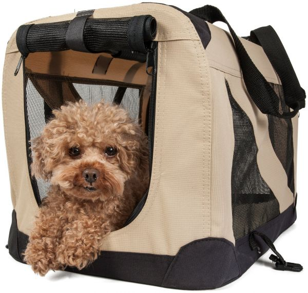 Pet Life '360° Vista View' Zippered Soft Folding Collapsible Durable
