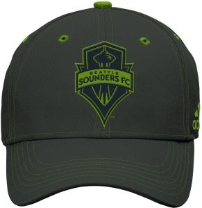 on sale 2d609 7af51 Outerstuff MLS Seattle Sounders FC Boys Tonal Logo Structured Adjustable Hat,  Dark Shale, One Size (8)