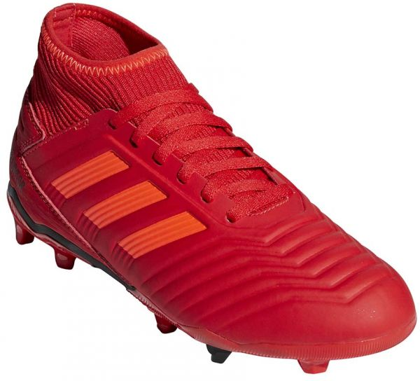 979b18c837d3 adidas Predator 19.3 FG J Football Boots for Kids - Active Red/Solar  Red/Core Black | Souq - UAE
