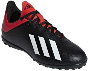 sports shoes 5a649 0e49d adidas X 18.4 TF J Football Shoes for Kids - Core BlackOff WhiteActive Red