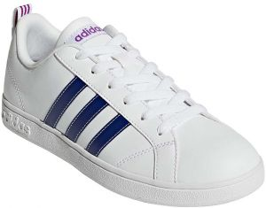 best sneakers 1981c 309a4 adidas VS Advantage Tennis Shoes for Women - FTWR White Mystery Ink F17  Shock Purple