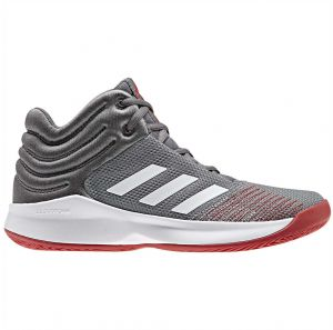 35a1f0ffe3a adidas Pro Spark 2018 K Basketball Shoes for Kids - Grey Three F17 FTWR  White Grey Four F17