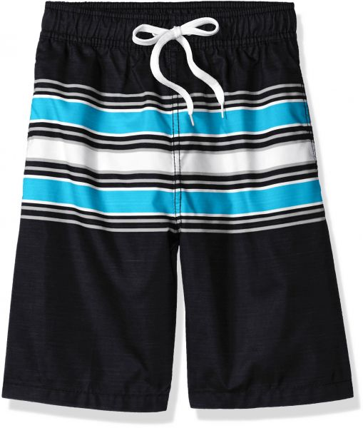 d2934e95da Kanu Surf Big Boys' Archer Stripe Quick Dry Beach Board Shorts Swim Trunk,  Black, Medium (10/12) | Souq - UAE