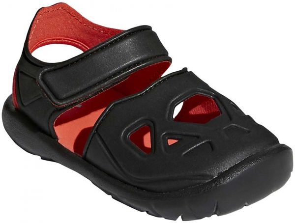 fc912f3ee465 adidas Forta Swim 2.0 Clog Sandals for Kids - Core Black Hi-Res Red S18
