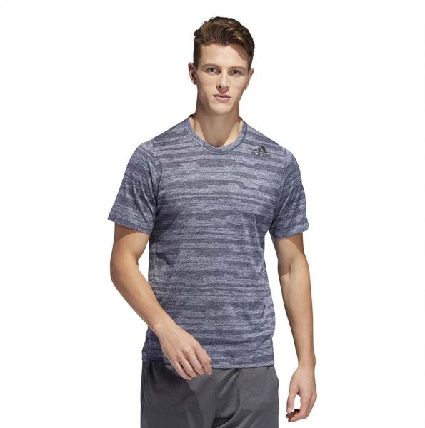 015ebc2689ab adidas Freelift Engineered Heather Sport T-shirt for Men - Legend Ink