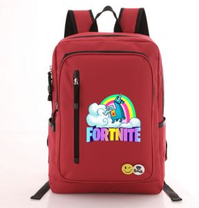 e4eb4d742a Fortnite New Style Cute Pony Student School Bankpack Laptop Zipper College  Lunch Book Double Shoulder Bags