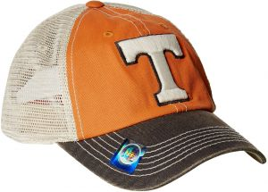 best service 0e728 0bbcd Top of The World NCAA Off Road Adjustable Cap, One Size, Light Orange Stone