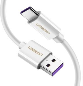 UGREEN USB C Cable 5A SuperCharge USB Type C to USB A Charging Cable Cord Fast Charger for Huawei Mate 10, 10 Pro, P10, P10 Plus, Mate 9, Mate 9 Pro, ...