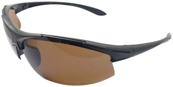 b3ffc7788844d ERB 18617 Commandos Safety Glasses with Brown Smoke Polarized Lens ...