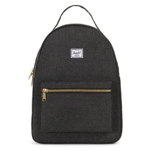 b9c4cc195 Herschel Nova Mid Unisex Casual Backpack - Polyester, Black Crosshatch