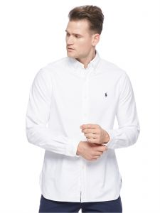 666d9a78e80 Polo Ralph Lauren Brushed Oxrford Shirts for Men - White