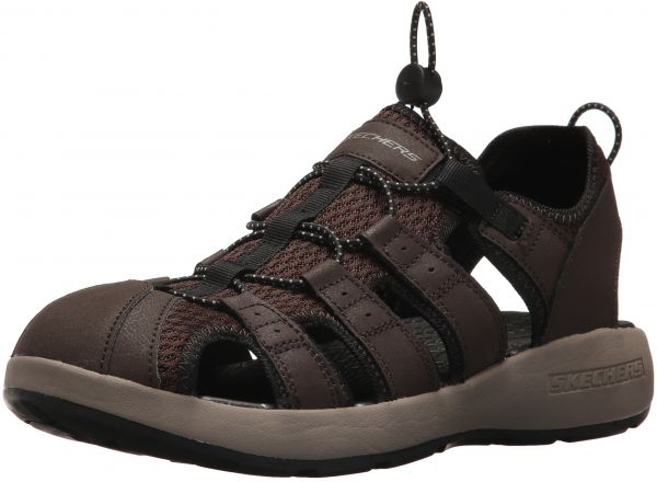 e5b095c13bdb Skechers Sport Men s Melbo Journeyman 2 Fisherman Sandal