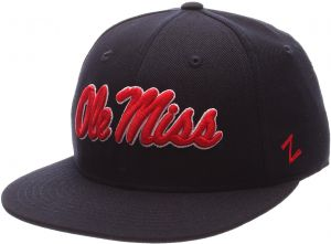 best sneakers 98296 d2734 NCAA Mississippi Old Miss Rebels Men s M15 Fitted Hat, Navy, Size 7 5 8