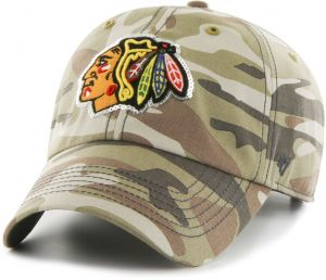 huge selection of c11b1 b156f  47 NHL Chicago Blackhawks Women s Sparkle Camo Clean Up Hat, Women s, Faded  Camo