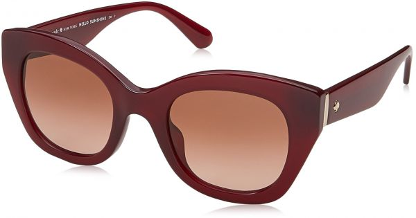 6f1cef5250f9 Kate Spade New York Womens Jalena S Opale Burgundy Brown Gradient One Size  One Size