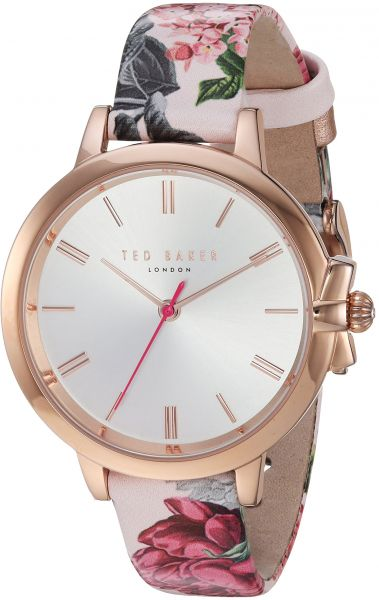 a5251013392 Ted Baker Women s  Ruth  Quartz Stainless Steel and Leather Casual  WatchMulti Color (Model  TE50267001)